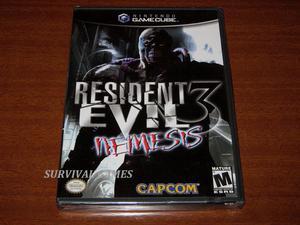 Resident Evil 3 Nemesis (Nuevo Sellado) - Nintendo Gamecube