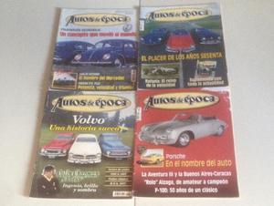 Revistas Autos de Epoca,primeros numeros