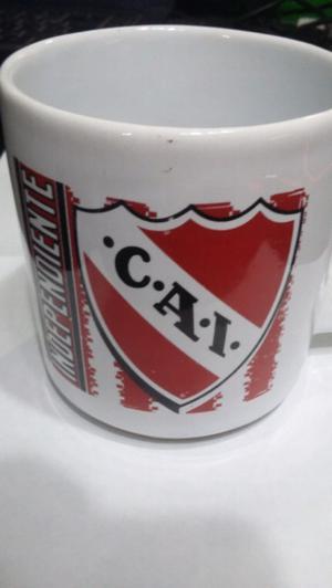 Taza de cerámica de independiente