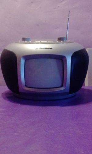 Tv 5pulg con cd y radio
