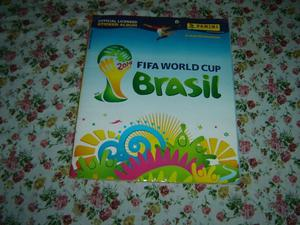album de figuritas del mundial de brasil completo