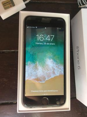 iPhone 6 de 32 gb completo en caja igual a nuevo