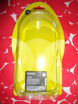 Batería para celular, marca MOTOROLA HP 6X, NUEVA $ 200