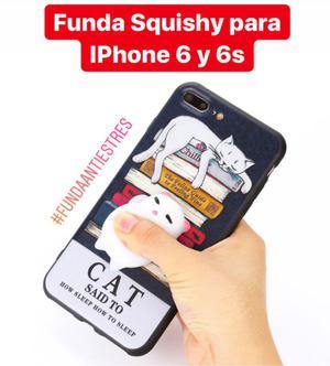 Funda Squishy gatito para IPhone 6 y 6S