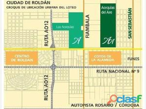 LOTE 210 M 8 - ACEQUIAS DEL AIRE - ROLDAN