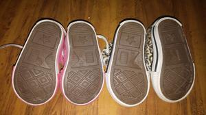 Líquido 3 pares de zapatillas talle 18