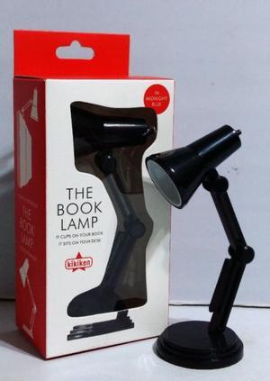 Mini Lámpara Lectura Velador Led Con Clip Para Libros