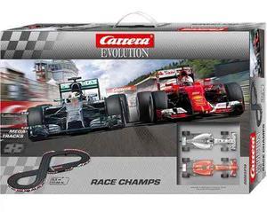Pista Carrera Evolution Race Champs Electrica La Mejor!!!!!!