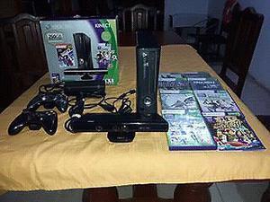 Vendo Consola Xbox 360 Slim original en excelente estado