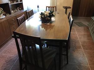 Vendo Mesa Comedor con sillas
