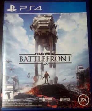 Vendo juego Star Wars Battlefront 1 PS4 usado