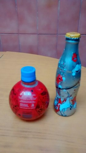 Botellas Coca Cola Light Y Mundial Alemania