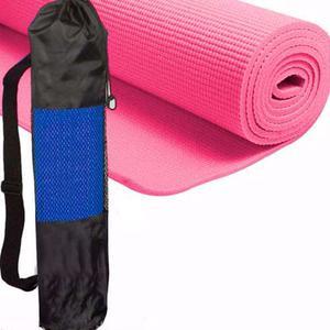 Colchoneta 5 Mm Pack X10 Mat Yoga Pilates Fitness C/ Bolso