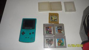 Game Boy Color Mas Juegos (pokemon Gold)