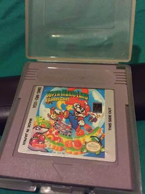 Gameboy Juego Súper Mario Land 2