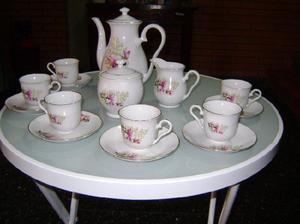 Juego de Café de Porcelana China