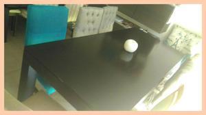 Mesa de 2 m x 90 cm Laqueada