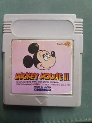 Mickey Mouse 2 Game Boy
