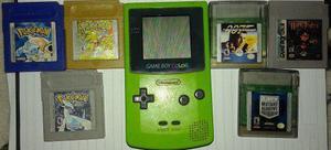 Nintendo Game Boy Color + Juegos