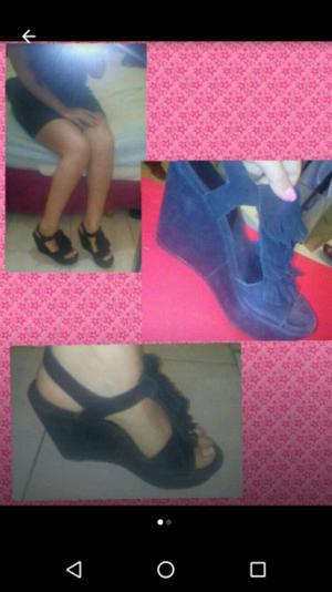 Sandalias 37 zapato plataforma comodas