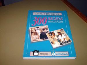 1 libro de cocina y reposteria seleccionado utilisima