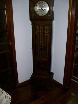 Antiguo Reloj De Pie A Pendulo