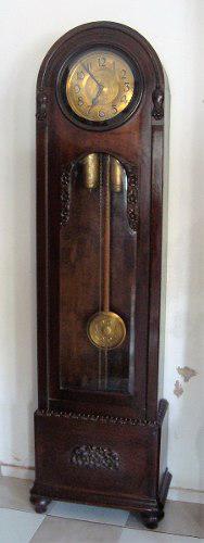 Antiguo Reloj De Pie Semi Carrillon Funcionando