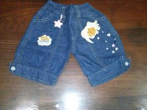 Bermuda de Jeans de nena....$80