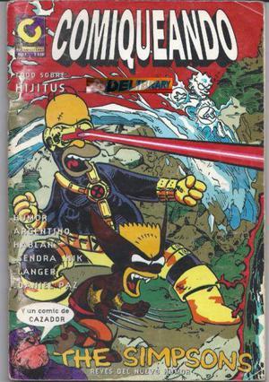 Comiqueando Nº 4, Los Simpsons, Firmado Por Andrés