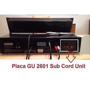 Denon Placa Gu  Sub Cord Unit Sub Code Out Caba Envios