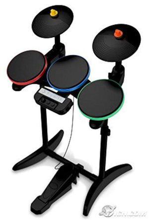 Guitar Hero Guerreros De Rock Wireless Drums Para Wii