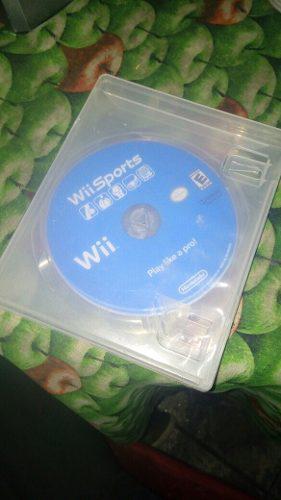 Juego De Wii (wii Sports)(el Juego Tiene Diversos Deportes)