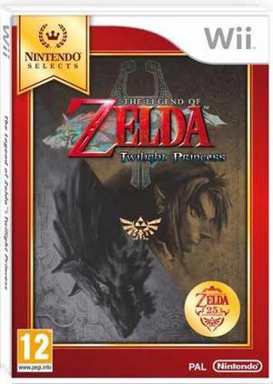 Legend Of Zelda Twilight Princess En Caja Con Manuales!!