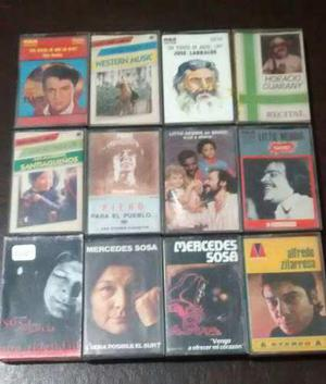 Lote De Cassettes Originales (18 Unid.)