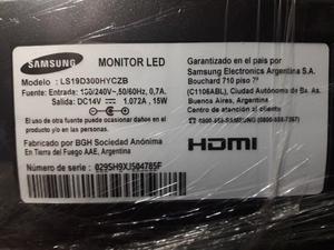 Monitor Samsung LED 19 pulgadas HDMI nuevo sin uso
