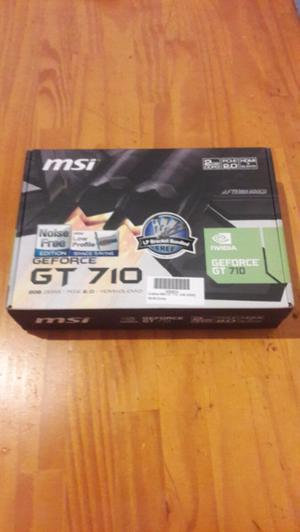 Placa de video GeForce GT 710 liquido