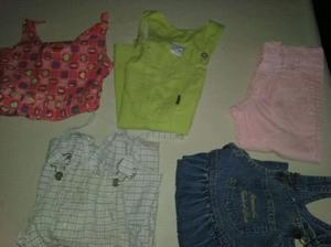 Ropa niños talle 4. Un vestidito, un pantalón, una jumper
