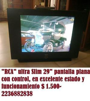 "TV "" RCA"" 29"" pantalla plana ultra slim con control"