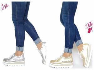 VENDO Zapatillas Zapatos Mujer Con Plataforma De Goma Mugato