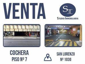 VENTA cochera centrica, san lorenzo al 1000 al lado del