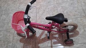 Vendo bicicleta de niña rodado 12