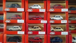 Venta de autos a escala