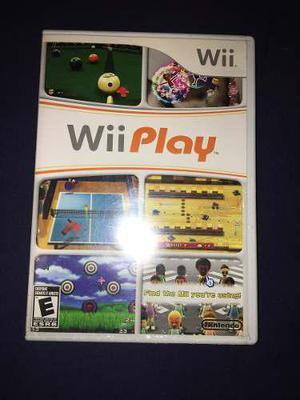 Wii Play Juego Original De Wii Con Poco Uso