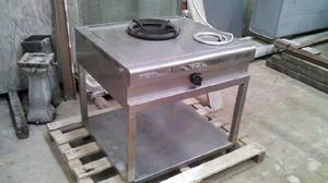 Mobiliario para cocina wok posot class for Cocina wok industrial