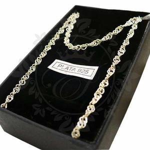 Cadena De Plata 925 Para Mujer, Collar Plata 925, Cadena 15