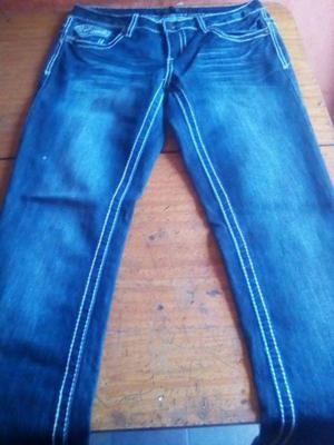 Jeans Mujer cod 1 color azul talle S-68 equivalente a 36