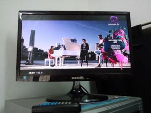 """TV SAMSUNG LED 22"""" FULL HD,C/REMOTO,IMPECABLE!!"""