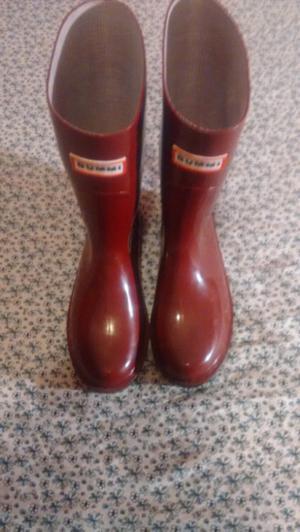 botas de mujer para lluvia nuevas nro38