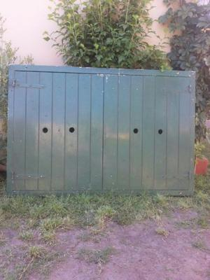 postigones exteriores antiguos de madera dura