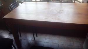 vendo mesa madera